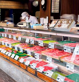 精肉・お惣菜販売